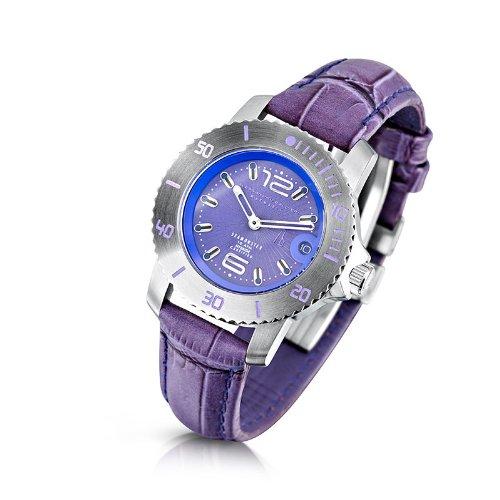 Alessandro Baldieri Ladies Limited Edition Watch Seamonster Lady Violetta AB0031-VIO