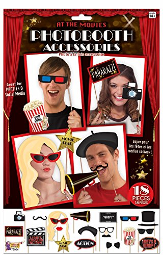 Photo Booth Accessory - Hollywood Theme (Grown Up Party Themes)