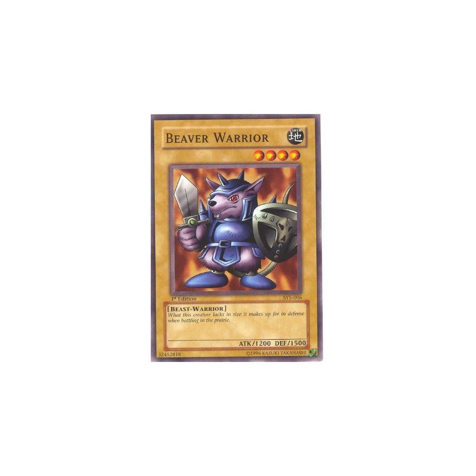 Yu Gi Oh Beaver Warrior   Yugi Evolution Deck