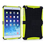 Vogue Shop Ipad mini 2 TPU stand Case, Ipad mini Case Cover - Ipad mini 2 Shock-absorption / Impact Resistant Hybrid Dual Layer Armor Defender Protective Case Cover with Built-in Kickstand for Ipad mini 2 (yellow)