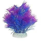 Blau, Lila, Coral Form Simulation Wasser Gras Pflanze Ornament für Aquarium