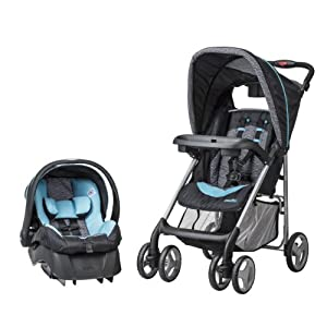 Evenflo JourneyLite Travel System with Embrace, Koi
