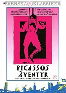 The Adventures of Picasso ( Picassos äventyr ) [ NON-USA FORMAT, PAL, Reg.2 Import - Sweden ]