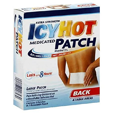 Отзывы Icy Hot Back Patch 5 Patches