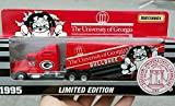 1995 Matchbox UNIVERSITY of GEORGIA BULLDOGS FOOTBALL Tractor Trailer Truck in 1:80 Scale Diecast