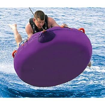 The Airhead Strike towable tube with Aqua Zooka water gun and optional