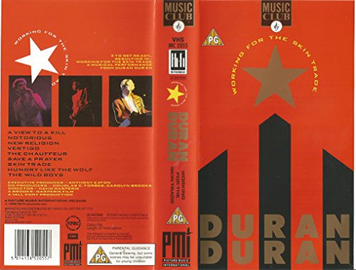 Working for the Skin Trade: Live in Concert [VHS]