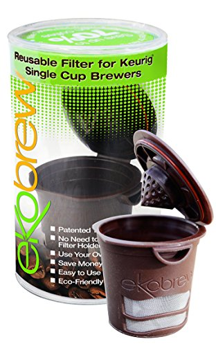Ekobrew Refillable K-cup for Keurig 1.0 Brewers