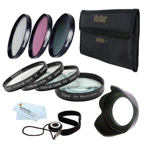 67Mm Macro Kit Includes: 4Pc. Close-Up Macro Filters + 3Pc. Filter Kit (Uv, Cpl, Fld) For Nikon Df, D7100 D7000 D5300 D5200 D5100 D3200 D3100 D800 D700 D600 D610 D810 D300S D90 Canon Eos 5D Mark Iii Eos-1D X 6D 7D, 7D Mark Ii 60D 70D T5I T4I Sl1 T3I Eos M