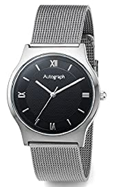 Autograph Round Face Analogue Watch