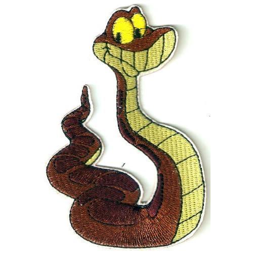 Amazon.com: Kaa Snake in Jungle Book Movie Disney Embroidered Iron On