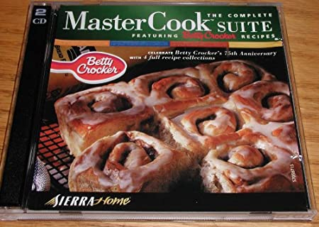 SIERRA ATTRACTIONS  MasterCook Complete Suite Feat. Betty Crocker (Windows)