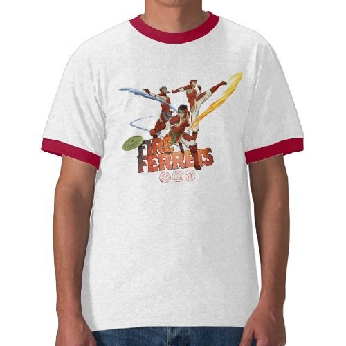 Legend of Korra: Fire Ferrets Team Ringer Tee - Mens