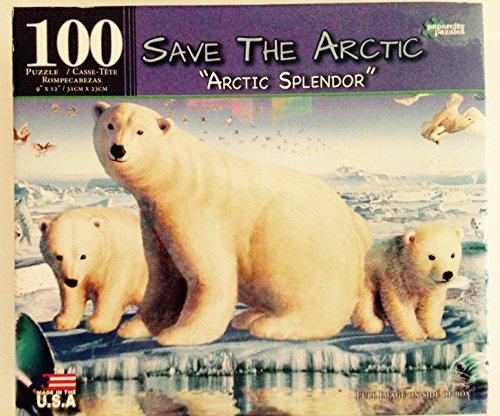 "Save the Artic ""Artic Dreams"" 100 piece puzzle"