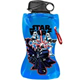 Vandor 99110 Star Wars Darth Vader Collapsible Water Bottle, 12-Ounce, Multicolored