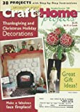 img - for Decorating Digest Craft & Home Projects Magazine November/December 2009 Make a Fabulous Faux Fireplace! book / textbook / text book