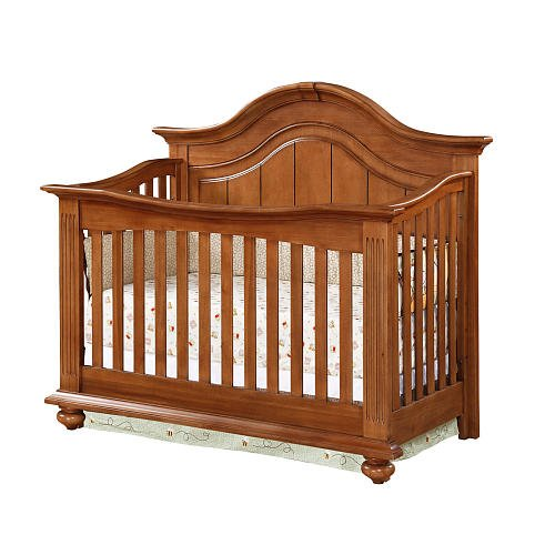 Baby Cache Melbourne Lifetime Crib - Fawn front-1037563