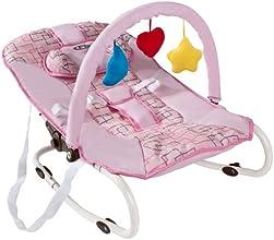 TecTake Hamaca para bebé Hamaquita + Arco de juego Nuevo Rosa