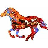 Wild Running Horse Animal Shaped Jigsaw Puzzle [Misc.]
