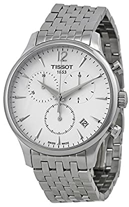 Tissot T Trend Tradition Chronograph White Dial Stainless Steel Mens Watch T0636171103700 Duaimilt 14