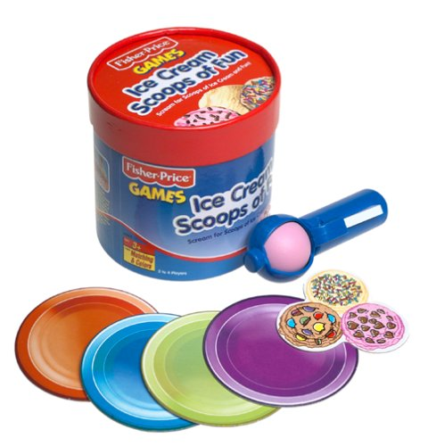 Fisher Price Cream Scoops of Fun (Ice Cream Matching Game compare prices)