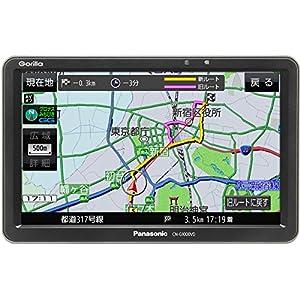 パナソニック(Panasonic) ゴリラ 7インチポータブルナビ VICS WIDE対応 CN-G1000VD