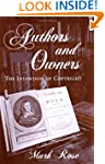 Authors and Owners: The Invention of...