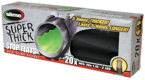 Slime 30050 Super Thick Self-Sealing Smart Tube, Schrader Valve (20 x 1.75-2.125)
