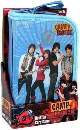Disney Camp Rock - Rock On Card Game - NIB