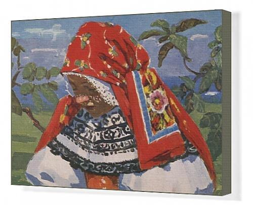 Canva (Czech Republic Traditional Costume)