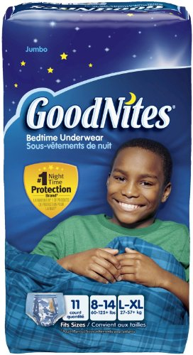 Goodnites Underwear - Boy - 11 ct., Size 11 - 1