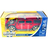 GK Racer Series SUV Hummer H2 1:24 RC Car Radio Remote Control Red