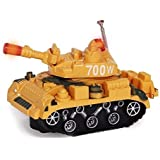 Dazzling Toys Army Battle Tank Toy Truck With Lights And Sounds