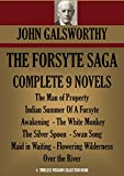 Image of THE FORSYTE SAGA COMPLETE NINE NOVELS (The Forsyte Saga - A Modern Comedy - End of the Chapter) (Timeless Wisdom Collection Book 3001)