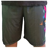 Short Mask Lax Moisture Wicking grey Daredevil Youth