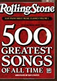 img - for Rolling Stone Magazine Sheet Music Classics, Volume 1: 39 Selections from the 500 Greatest Songs of All Time (Easy Piano) book / textbook / text book
