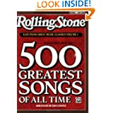 Rolling Stone Magazine Sheet Music Classics, Volume 1: 39 Selections from the 500 Greatest Songs of All Time (...