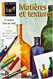 echange, troc Collectif - Textures et matières