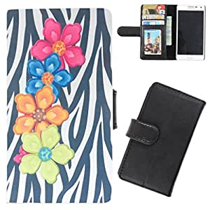 DooDa - For Sony Xperia C PU Leather Designer Fashionable Fancy Flip Case Cover Pouch With Card, ID & Cash Slots And Smooth Inner Velvet With Strong Magnetic Lock