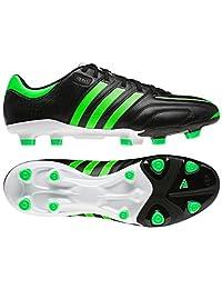 Adidas Men's Adipure 11Pro Trx Fg Shoes, Black, Green Zest, Running White