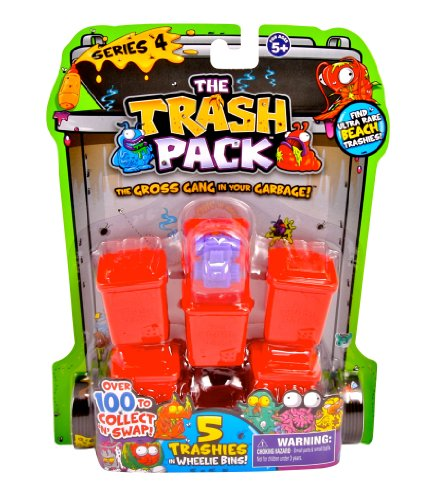 Trash Pack Series #4, 5-Pack (All Trash Pack Toys compare prices)
