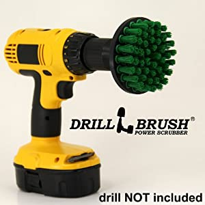 Power Brush Tile Scrubbing Rotary Scrub Bit