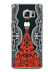 YuBingo Lady in a Evening Gown Designer Mobile Case Back Cover for Samsung Galaxy S6 Edge