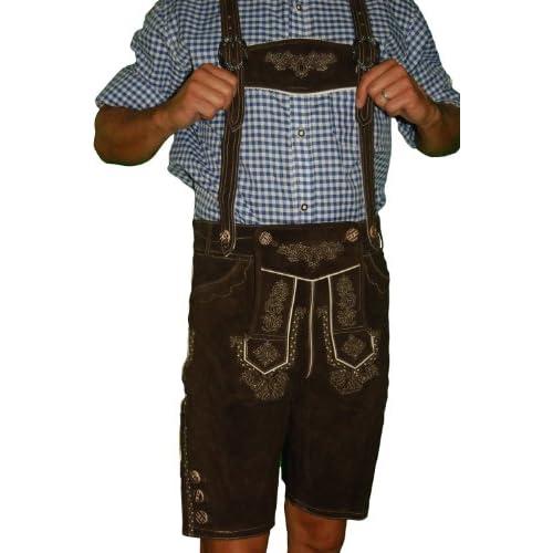 Amazon.com: Authentic Lederhosen German Lederhosen Outfit
