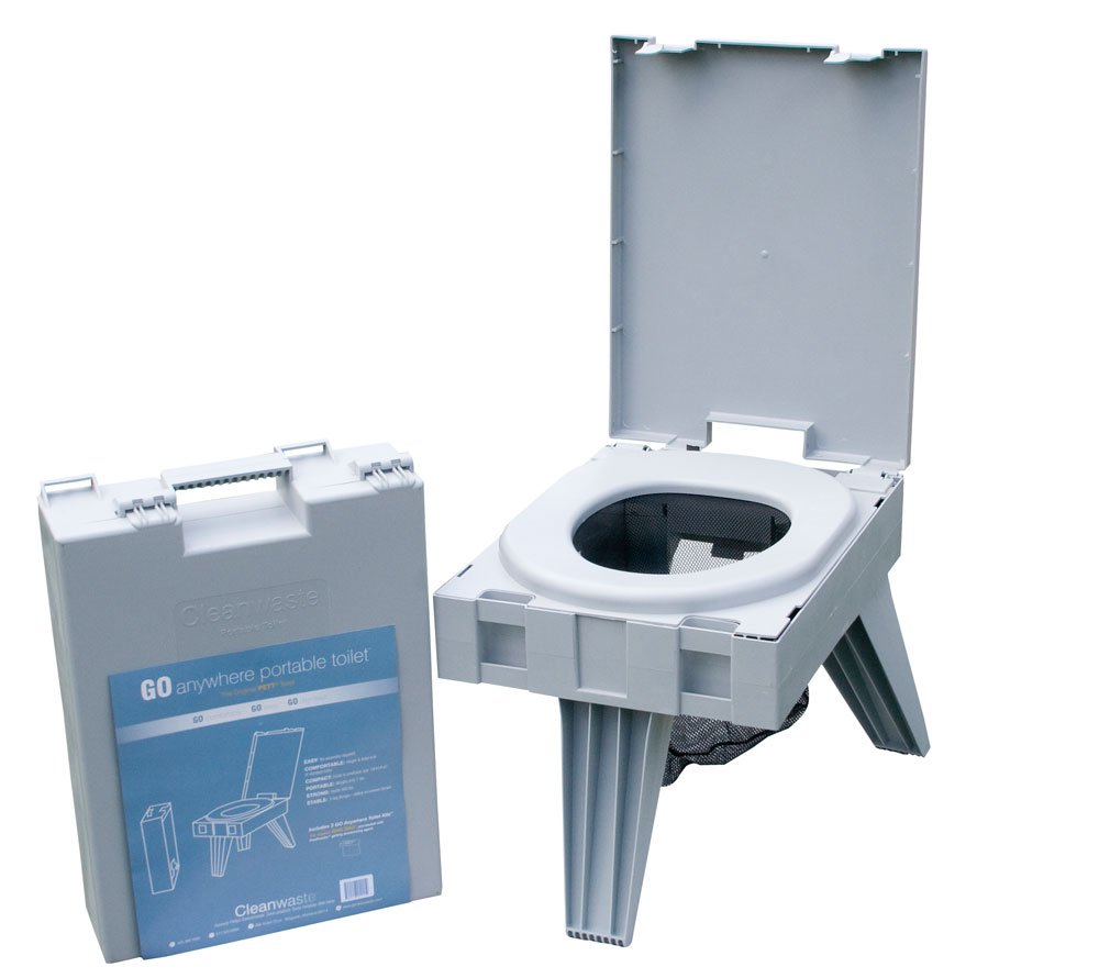 Best folding toilet - CleanWaste Portable Toilet