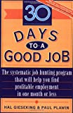 img - for 30 Days to a Good Job book / textbook / text book