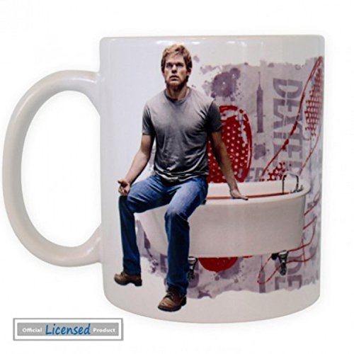 Set: Dexter, Am I A Good Person Tazza Da Caffè Mug (9x8 cm) E 1 Sticker Sorpresa 1art1®