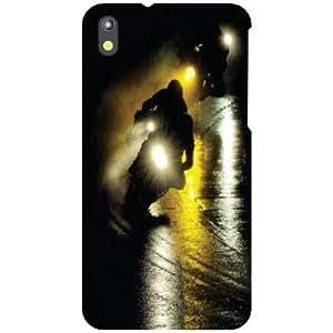 HTC Desire 816 Back Cover - In The Night Designer Cases