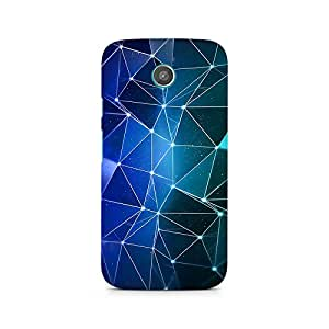 Ebby Connected Triangles Premium Printed Case For Moto G2