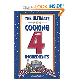 The New Cooking With 4 Ingredients Jean Coates